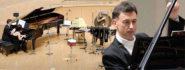 Philip Smith in concert with Dame Evelyn Glennie and Noriko Ogawa, Japan